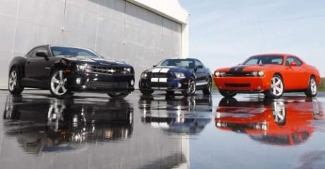 Mustang vs Camaro vs Challenger