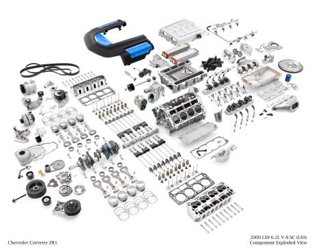 2011 Corvette 6.2L LS9 Motor