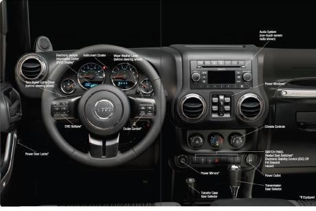 2011 Jeep Wrangler JK Interior