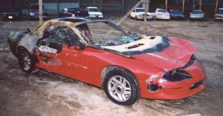 Burnt Camaro