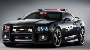 2010 Camaro Police Car
