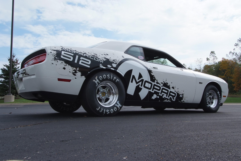 Dodge Challenger Drag Car