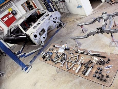 1969 Chevrolet Camaro Restoration