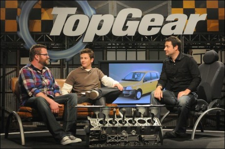 Top Gear USA History Channel Cast
