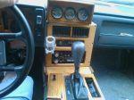 1988 Pontiac Fiero Woodgrain Interior Shifter
