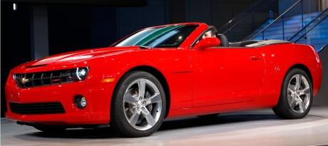 2011 Chevrolet Camaro Convertible Debut At 2010 LA Auto Show