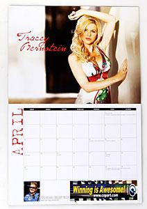 NHRA Housewives Calendar Tracey Bernstein (Brandon Bernstein- Top Fuel Dragster)