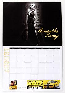NHRA Housewives Calendar Samantha Kenny Coughlin (Jeg Coughlin – Pro Stock Car)