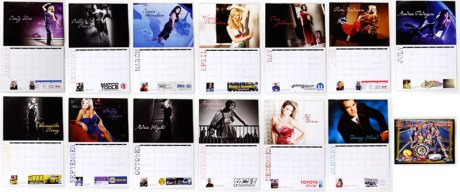 NHRA Real House Wives Calendar Girls
