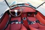 50th Anniversary Shelby Cobra Interior