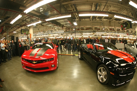 2011 Chevrolet Camaro Convertible Assembly Plant