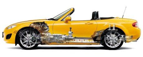 Mazda Miata Mx5 Cutaway