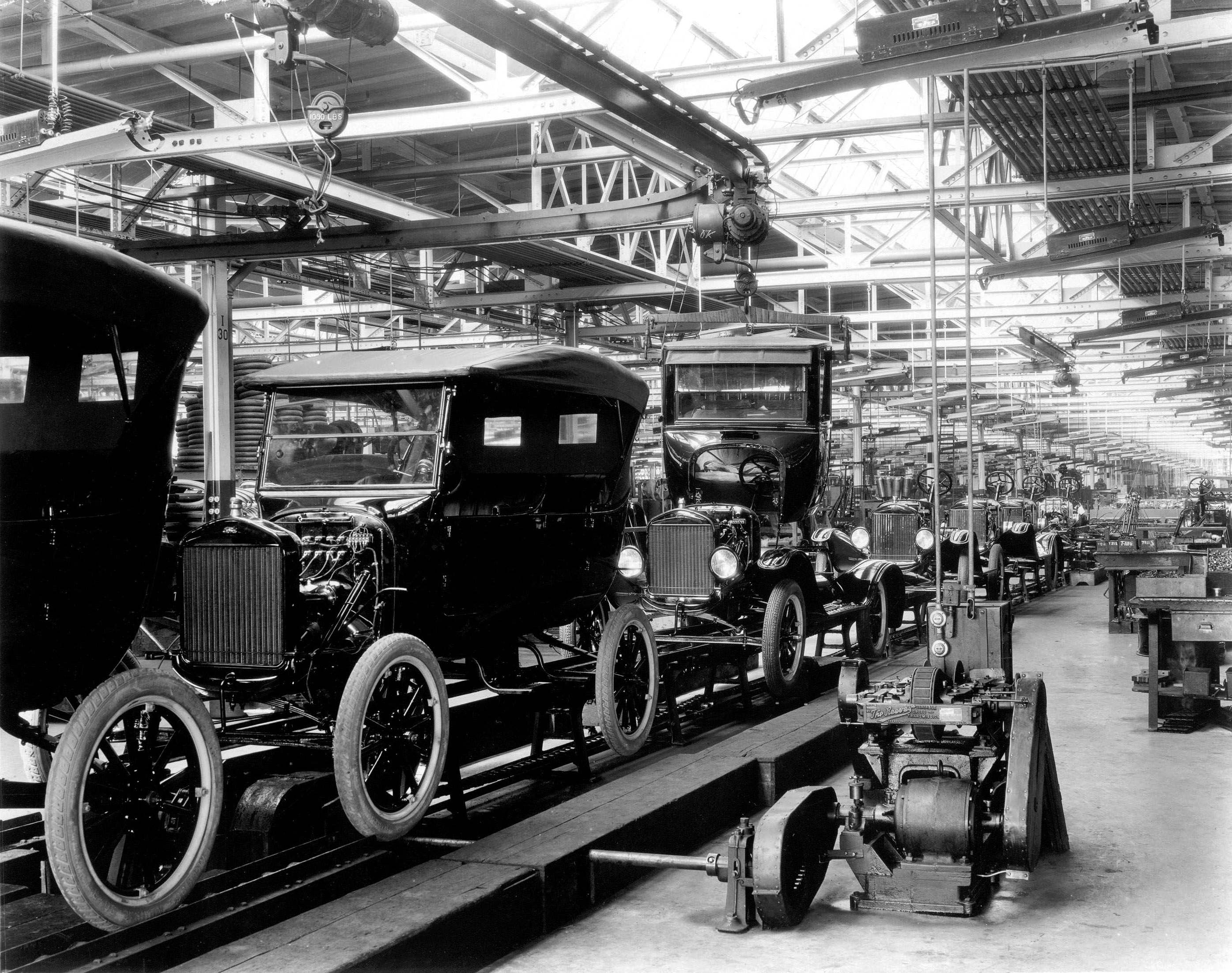 1924 model t assembly line motor city muscle cars