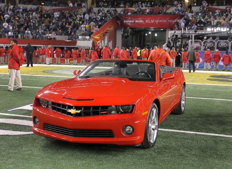 Super Bowl MVP Aaron Rogers Wins 2011 Camaro Convertible