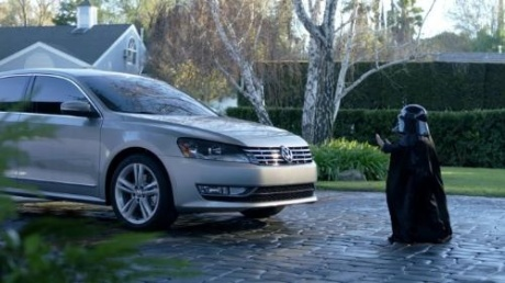 VW The Force Superbowl Commercial Darth Vader meets the Passat