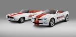 2011 Chevrolet Camaro Indianapolis 500 Special Edition Pace Car and 1969 Camaro Pace Car
