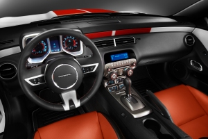 Chevrolet Camaro Convertible Official Pace Car of 2011 Indy 500 Interior