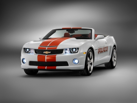 Chevrolet Camaro Convertible Official Pace Car of 2011 Indy 500